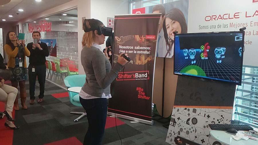Realidad Virtual en evento de Integración Empresarial