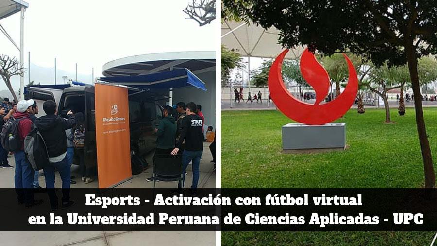 Esport - futbol virtual para eventos y activaciones