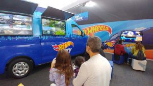 Zona Gamer en el HotWheels City Perú
